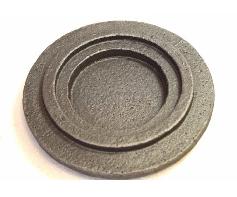 Крышка глухая D130 для дробилки ДО-1М